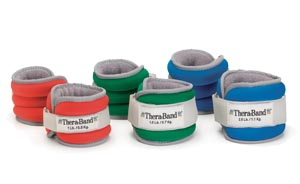 HYGENIC/THERA-BAND COMFORT FIT ANKLE & WRIST WEIGHT SETS : 25870 PR $15.31 Stocked