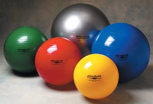 HYGENIC/THERA-BAND EXERCISE BALLS : 23010 EA $14.50 Stocked