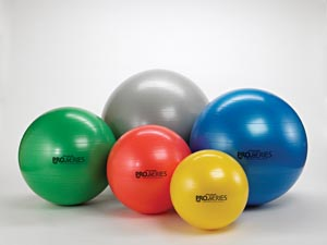 HYGENIC/THERA-BAND PRO SERIES SCP™ EXERCISE BALLS : 23135 CS $244.53 Stocked