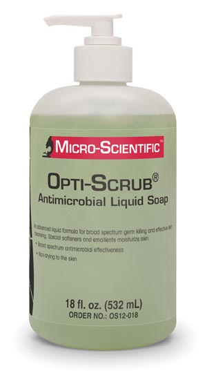 MICRO-SCIENTIFIC OPTI-SCRUB SKIN CLEANSER : OS12-018 EA $9.58 Stocked