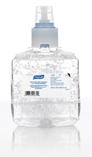 GOJO PURELL LTX-12 ADVANCED GREEN CERTIFIED INSTANT HAND SANITIZER : 1903-02 CS $28.78 Stocked
