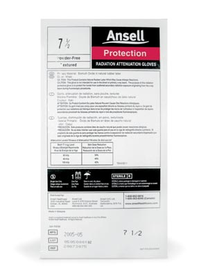 ANSELL RADIATION ATTENUATION GLOVES : 20873090 PK                       $46.33 Stocked