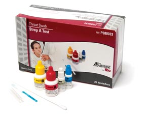 PRO ADVANTAGE STREP A TEST : P080033 BX $34.01 Stocked