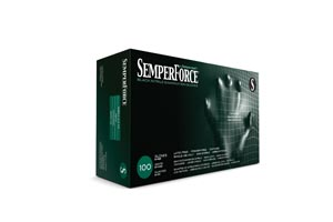 SEMPERMED SEMPERFORCE NITRILE EXAM POWDER FREE TEXTURED GLOVE : BKNF102 BX                       $7.37 Stocked