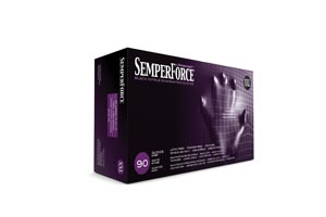SEMPERMED SEMPERFORCE NITRILE EXAM POWDER FREE TEXTURED GLOVE : BKNF106 BX                $7.37 Stocked