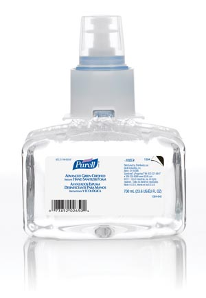 GOJO PURELL® LTX-7 ADVANCED GREEN CERTIFIED INSTANT HAND SANITIZER : 1304-03 CS