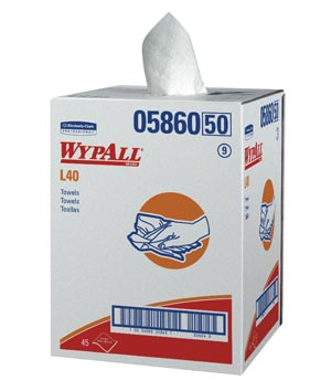 KIMBERLY-CLARK WYPALL WIPERS : 05860 BX                     $81.35 Stocked