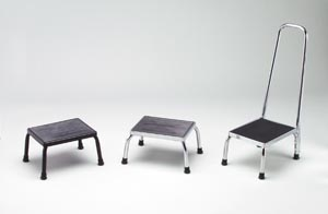 TECH-MED FOOTSTOOLS : 4351BLK EA
