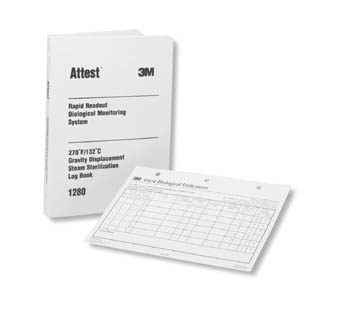3M™ ATTEST™ LOG BOOKS & RECORD CHARTS : 1266 EA $13.64 Stocked