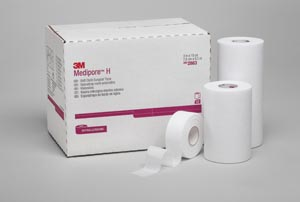 3M™ MEDIPORE™ H SOFT CLOTH SURGICAL TAPE : 2861 CS $69.89 Stocked