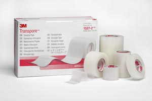 3M™ TRANSPORE™ SURGICAL TAPE : 1527-2 BX                       $17.18 Stocked
