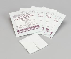 AMD MEDICOM TRACH & IV NON-WOVEN DRESSING SPONGES : A9210 CS                       $40.25 Stocked