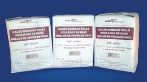 AMD MEDICOM VITAL-ROLL GAUZE BANDAGES : A6903 CS                       $40.25 Stocked