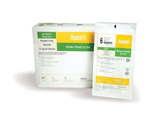 ANSELL GAMMEX NON-LATEX POWDER-FREE STERILE NEOPRENE SURGICAL GLOVES : 8514 BX      $122.85 Stocked