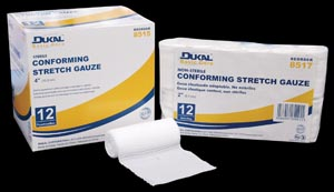 DUKAL BASIC CONFORMING STRETCH GAUZE : 8516 CS                       $33.90 Stocked