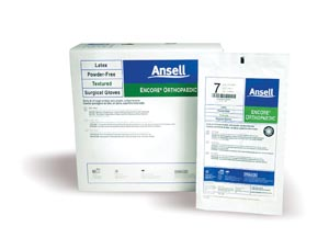 ANSELL ENCORE POWDER-FREE ORTHOPAEDIC STERILE SURGICAL GLOVES : 5788004 CS $253.50 Stocked