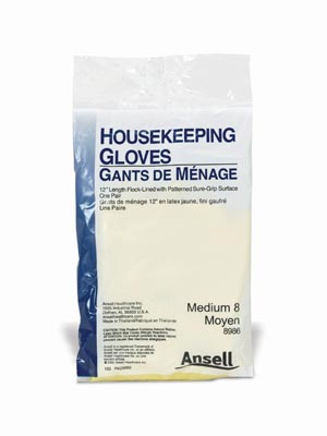 ANSELL HOUSEKEEPING GLOVES : 8986 CS                       $136.50 Stocked