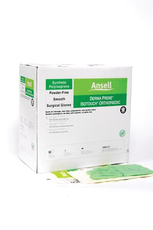ANSELL GAMMEX® NON-LATEX PI ORTHO GLOVES : 20686570 BX