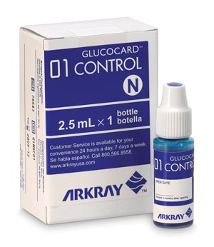 ARKRAY GLUCOCARD 01 METER : 720005 EA  $7.83 Stocked
