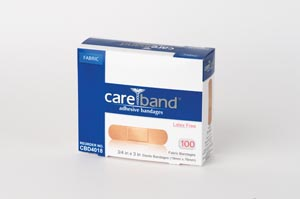 ASO CAREBAND™ FABRIC ADHESIVE STRIP BANDAGES : CBD4018 CS         $21.53 Stocked