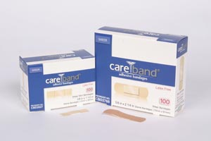 ASO CAREBAND™ SHEER ADHESIVE STRIP BANDAGES : CBD2027 CS $14.20 Stocked