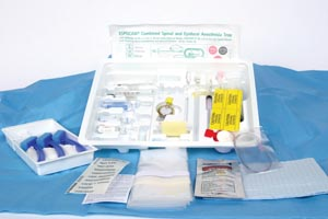 B BRAUN COMBINED SPINAL/EPIDURAL TRAYS : 333192 CS $534.67 Stocked