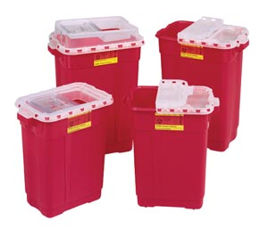 BD EXTRA LARGE SHARPS COLLECTORS : 305610 CS $167.18 Stocked