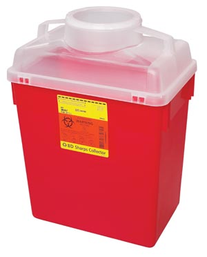 BD MULTI-USE NESTABLE SHARPS COLLECTORS : 305465 CS                       $168.95 Stocked