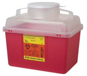 BD MULTI-USE NESTABLE SHARPS COLLECTORS : 305464 EA $10.51 Stocked