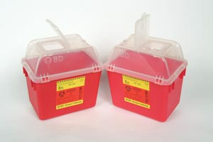 BD MULTI-USE NESTABLE SHARPS COLLECTORS : 305343 EA                   $6.64 Stocked