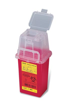 BD PHLEBOTOMY SHARPS COLLECTORS : 305487 CS $121.65 Stocked