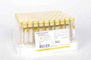 BD VACUTAINER ACD GLASS TUBES : 364606 BX  $90.22 Stocked