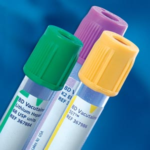 BD VACUTAINER PLUS PLASTIC BLOOD COLLECTION TUBES (EDTA) : 367863 CS $308.35 Stocked