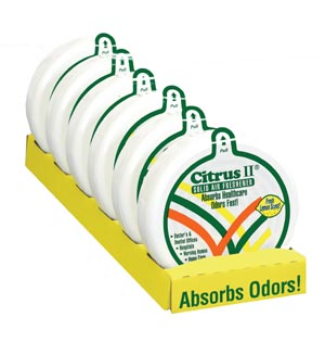 BEAUMONT CITRUS II SOLID AIR FRESHENER : 636471430 EA                   $4.15 Stocked
