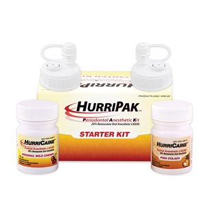 BEUTLICH HURRIPAK™ PERIODONTAL ANESTHETIC STARTER KIT : 0283-1009-09 KT $110.85 Stocked
