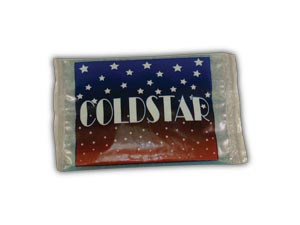 COLDSTAR HOT/COLD CRYOTHERAPY GEL PACK - NON-INSULATED : 70204 EA $0.62 Stocked