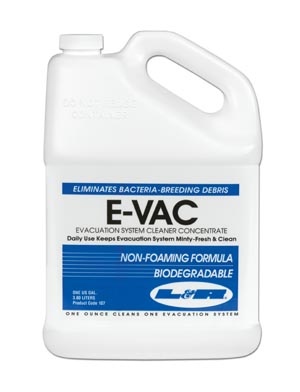 L&R E-VAC EVACUATION SYSTEM CLEANER CONCENTRATE : 107 EA                       $36.27 Stocked