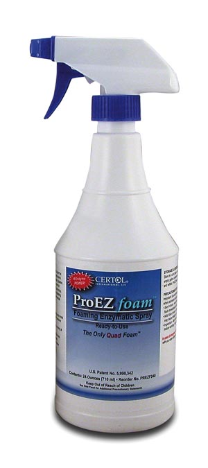 CERTOL PROEZ™ FOAM FOAMING ENZYMATIC SPRAY : PREZF240 EA