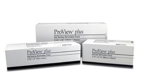 CERTOL PROVIEW PLUS SELF SEAL STERILIZATION POUCHES : PM3590 BX                       $15.48 Stocked