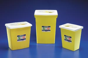 CARDINAL HEALTH CHEMOSAFETY™ CONTAINERS : 8939 EA    $36.14 Stocked