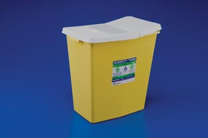 COVIDIEN/MEDICAL SUPPLIES CHEMOSAFETY™ CONTAINERS : 8985 CS                  $149.50 Stocked