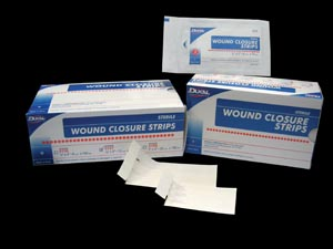 DUKAL WOUND CLOSURE STRIPS : 5150 BX                       $32.88 Stocked