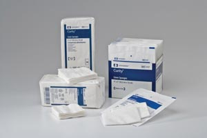 COVIDIEN/MEDICAL SUPPLIES CURITY™ COVER SPONGES : 2913 BG $3.99 Stocked