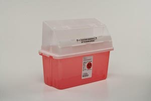 COVIDIEN/MEDICAL SUPPLIES GATORGUARD IN-PATIENT ROOM SHARPS CONTAINERS : 31353603 CS