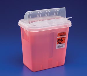 CARDINAL HEALTH IN-ROOM CONTAINERS WITH ALWAYS-OPEN LIDS : 85221R CS                     $71.37 Stocked