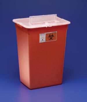 CARDINAL HEALTH LARGE VOLUME SHARPS CONTAINERS : 31143665 EA $12.53 Stocked