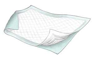 COVIDIEN/MEDICAL SUPPLIES FLUFF & POLYMER UNDERPADS : 948 BG             $4.48 Stocked