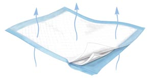 CARDINAL HEALTH FLUFF/POLYMER BREATHABLE UNDERPADS : 984 BG $9.13 Stocked
