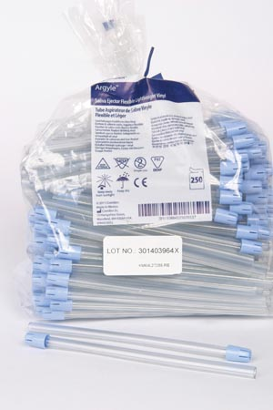 COVIDIEN/MEDICAL SUPPLIES MONOJECT™ 450 SALIVA EJECTOR : 8881450004 CS $71.45 Stocked