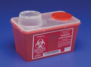 CARDINAL HEALTH MONOJECT™ SHARPS CONTAINERS : 8881676236 EA $3.68 Stocked